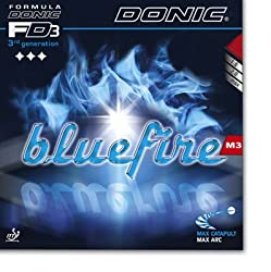 Donic Blue Fire M3 Table Tennis Rubber -Red