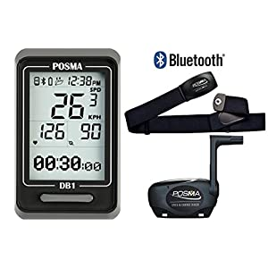 51K NO1WH3L. SS300  - POSMA DB1 BLE4.0 Cycling Computer Speedometer Odometer, support GPS by SmartPhone Integration for iPhone and Android…