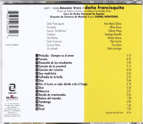 Dona Francisquita [Import allemand]