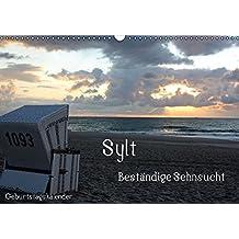 Sylt - Beständige Sehnsucht (Wandkalender immerwährend DIN A3 quer): Wolken, Wellen, Wind und Weite (Geburtstagskalender, 14 Seiten) (CALVENDO Natur)