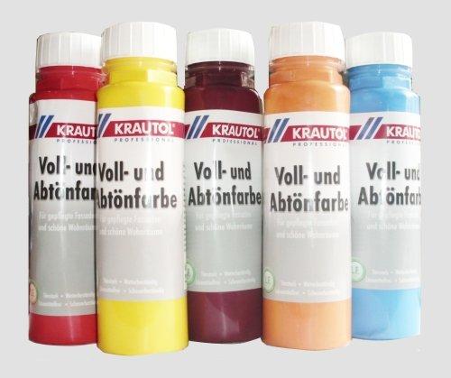 Krautol Professional Voll- und Abtönfarbe 250 ml Farbton: Erdnussbraun