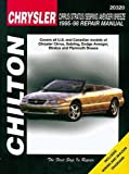 Chilton's Chrysler: Cirrus/Stratus/Sebring/Avenger/Breeze 1995-98 Repair Manual