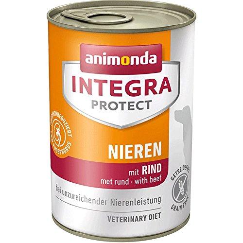 Animonda Integra Protect Nieren mit Rind | Diät Hundefutter | Nassfutter bei chronischer Niereninsuffizienz (6 x 400 g)