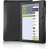 Bewinner Lecteur e-Book 7 Pouces, écran coloré étanche ARM9 Core Ultra-Clair E-Reader Ultra-Clair pour Windows XP/Vista/Win 7/Mac 10.0 et supérieur/Linux(Carte TF 8G)