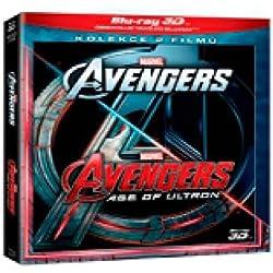 Avengers kolekce 1.-2. (4Blu-ray 3D+2D) (The Avengers + Avengers: Age of Ultron) (Tchèque version)
