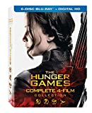 Hunger Games: Complete 4 Film Collection [USA] [Blu-ray]