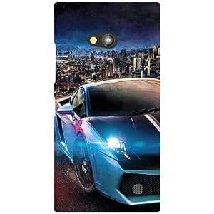 Nokia Lumia 730 Back Cover - Classy Designer Cases