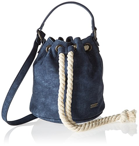 Roxy Damen The Only Thing Schultertasche, Mehrfarbig (Deep Cobalt/Solid), 4x39x47 Centimeters