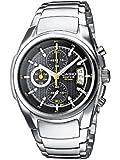 Casio Edifice Herren-Armbanduhr Chronograph Quarz EF-512D-1AVEF