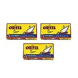 Ortiz Anchoas En Aceite De Oliva - Anchovies In Olivenöl, Sardellenfilets, 3er Pack (3 x 47 g)