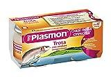 ( 5526 ) PLASMON (HEINZ ITALIA) PLASMON OMOG TROTA/VERD 80GX2P