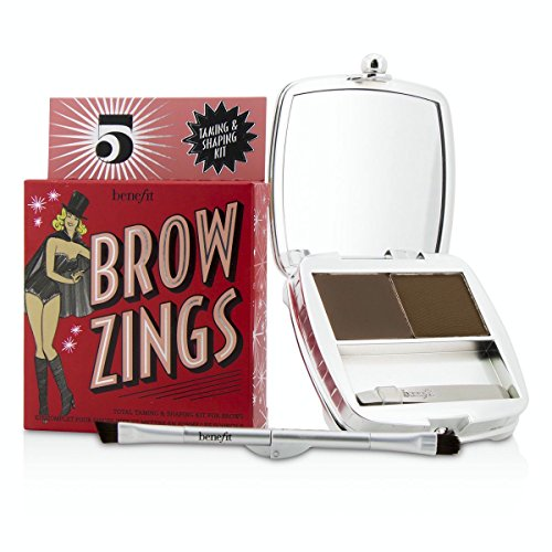 Benefit - Brow Zings (Total Taming Shaping Kit For Brows) - #5 (Deep) 4.35g/0.15oz (Brow Shaping Kit)