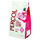 Percol Organic FT Lively Latino Ground Coffee 200 g (Pack of 2)