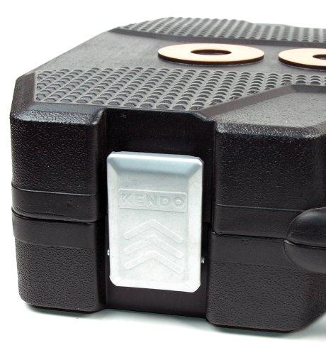Werkzeugkoffer 101-teilig, Chrom-Vanadium-Stahl, Alle Stecknüsse mit Rändelung, ergonomisch geformte Werkzeuggriffe, im robusten Koffer mit Metallverschlüssen - 5