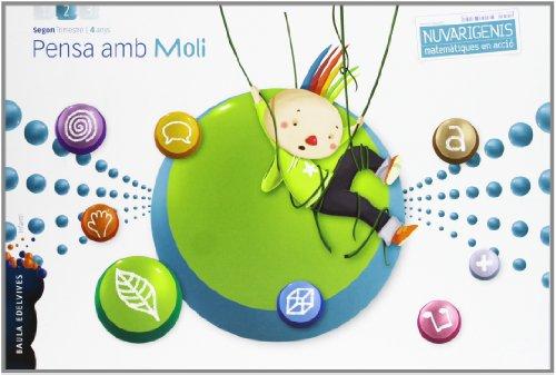 Pensa amb Moli (Infantil 4 años Segundo Trimestre) (Navarigenis) - 9788426387998