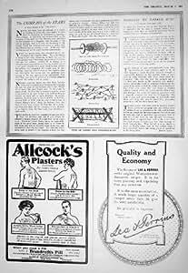 PLÂTRES 1916 DES ENCHEVÊTREMENTS CHEVAUX-DE-FRISE ALLCOCK RUSSE DE BARBELÉ