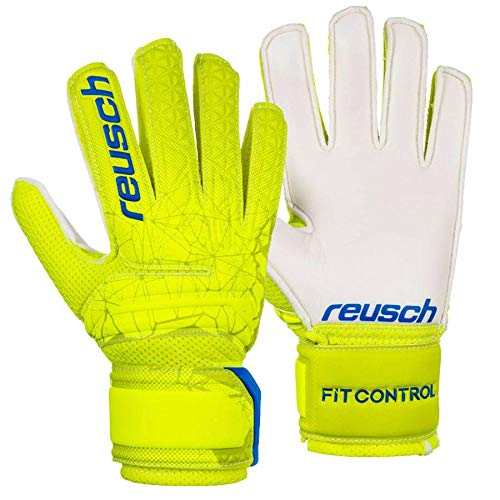 guanti da calcio bambino Reusch - Guanti da Portiere per Bambini Fit Control SD Open Cuff