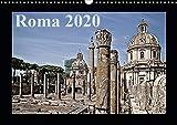 Roma (Wandkalender 2020 DIN A3 quer): Historische Stätten der italienischen Hauptstadt Rom (Monatskalender, 14 Seiten ) (CALVENDO Orte) -