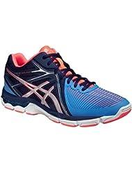 Shoes GEL-NETBURNER BALLISTIC MT COLUMBIA BLUE / SILVER / NAVY 15/16 Asics