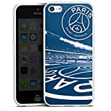 DeinDesign Apple iPhone 5c Coque en Silicone Étui Silicone Coque Souple Paris Saint-Germain PSG Parc des Princes