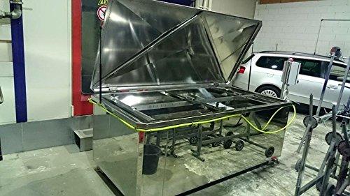 Preisvergleich Produktbild Wassertransferdruck Beschichtungsanlage - 140x120cm