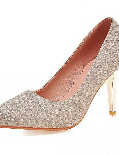 WSS 2016 Chaussures Femme-Bureau & Travail / Habillé / Décontracté / Soirée & Evénement-Bleu / Violet / Argent / Or-Talon Aiguille-Talons-Talons- blue-us9.5-10 / eu41 / uk7.5-8 / cn42
