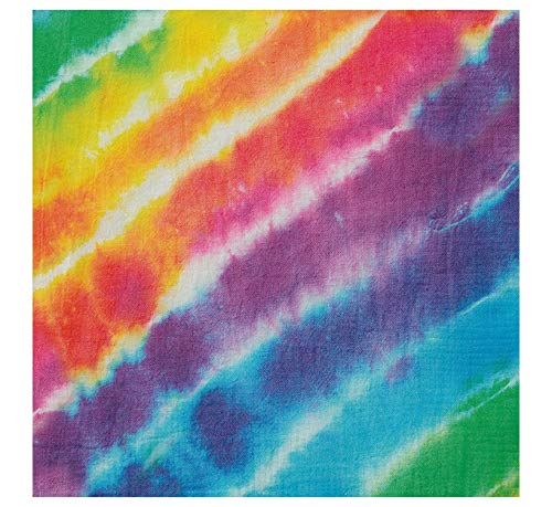 s Rainbow Tie Dye Papier Servietten, 16Stück ()