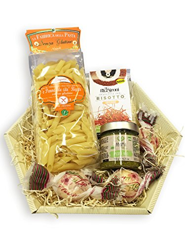 Glutenfreies Geschenkset mit exklusiven italienischen Köstlichkeiten