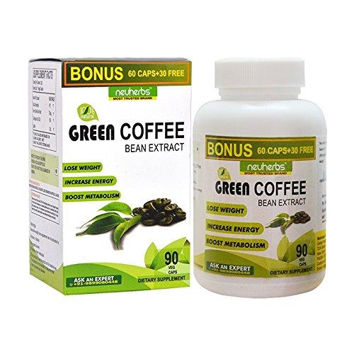 Neuherbs Green Coffee Bean Extract For Weight Loss - 90...