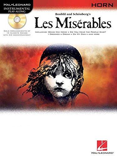 Les Miserables Play-Along Pack -For Horn-: Noten, CD, Sammelband für Horn (Hal Leonard Instrumental Play-along)