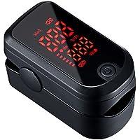 Mpow Oxímetro de Pulso Digital, Oxímetro de Pulso con Pantalla LED de 1.1 '', Pulsioxímetro de Dedo Sensor de oxígeno de Lectura instantánea y Monitor de frecuencia de Pulso Aprobado por FDA&CE