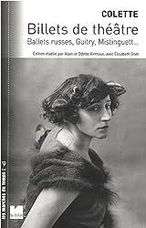 Billets de théâtre : Ballets russes, Guitry, Mistinguett...