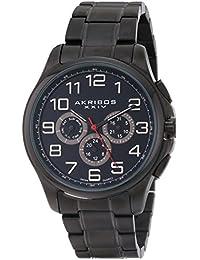 Akribos XXIV Reloj con movimiento cuarzo suizo Man 43 mm