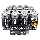 VARTA Power on Demand C Baby Batterien (20er Pack Vorratspack - smart, flexibel und leistungsstark für den mobilen Endkonsumenten - z.B. für Computerzubehör, Smart Home Geräten oder Taschenlampen) -