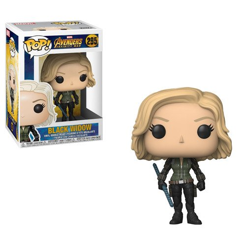 Funko Pop!- 26468 Marvel: Avengers Infinity War Black Widow Figura de Vinilo, Multicolor