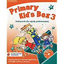 Primary Kid's Box Level 3 Pupil's Book with Songs CD and Parents' Guide Polish edition