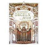 Die schönsten Orgeln 2018: Kalender mit CD -