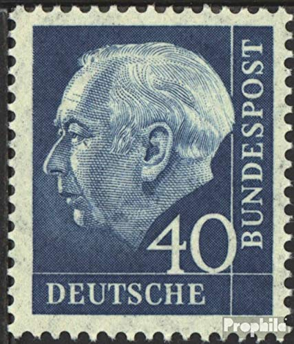 Prophila Collection BRD (BR.Deutschland) 260y Lumogen 1956 Bundespräsident Heuss (II) (Briefmarken für Sammler)