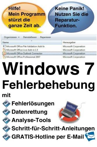 Windows 7 Fehlerbehebung Windows 7-taschenbuch