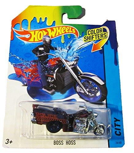 Hot Wheels - HW City Color Shifters 24/48 - Boss Hoss by Mattel
