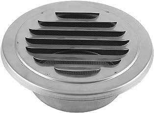 Eboxer Edelstahl-Wand-Luft-Entlüftungs-runder Flacher Gitter-Kanal-Ventilations-Abdeckungs-Abfluss-Insekten-Masche
