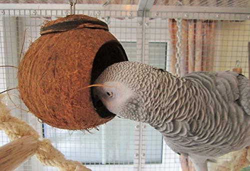 Papageien Spielzeug Candy Cave Sittich Spielzeug Hamster Futter Vogel Nest Höhle