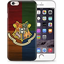 """iPhone 7 Plus Casas de Harry Potter Estuche de Silicona / Cubierta de Gel para Apple iPhone 7 Plus (5.5"""") / Protector de Pantalla y Paño / iCHOOSE / Hogwarts"""