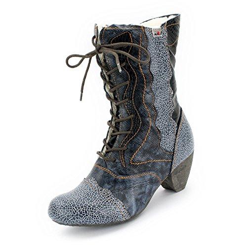 TMA Winter-Stiefel, Perlschwarz - 38 (Designer Schuhe Stiefel)