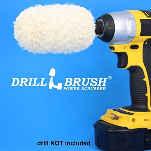 Drill Power Wheel Buffer Polisher Cleaner by Drillbrush Power ScrubberÃÂ\'Ã\'®