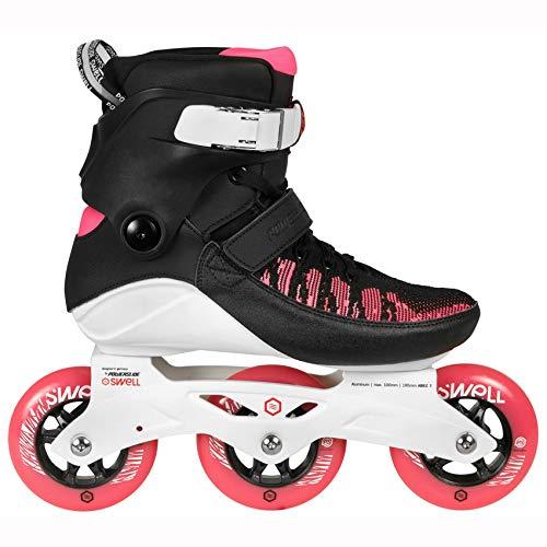 Powerslide Swell 100 Fitness Inline Skates schwarz-pink brink pink, 42