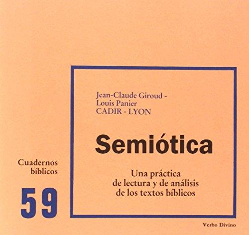 Semiótica: Cuaderno Bíblico 59 (Cuadernos Bíblicos)