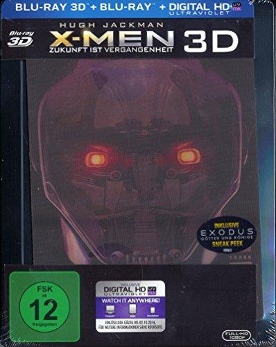 Bild von X-Men: Zukunft ist Vergangenheit [Limited Lenticular Steelbook Edition] (Blu-ray 3D + Blu-ray)