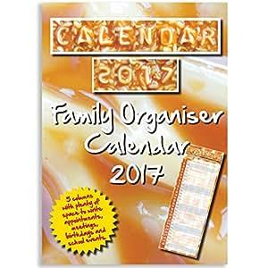 Famille Organisateur Calendrier 2015, Lettre de l'alphabet 2015 Calendrier