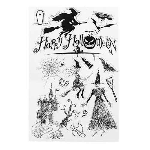 Mr.Better Halloween Für Transparente Briefmarken Silikon Briefmarken Clear Stamps für DIY Scrapbooking Karten Karten Machen fotoalbum Dekorative